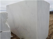 Namibia White Marble Blocks, Bianco Rhino Marble Blocks