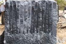 Royal Black Granite Rough Black
