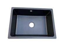 Black Quartz Stone Sink