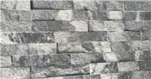 Cloudy Grey Marble Glued Wall Panel