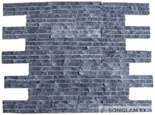 Crystal Grey Line Chiseled Wall Panel