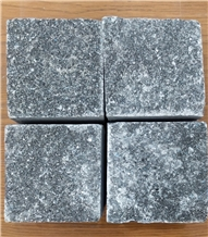 Split Surface Grey Marble Cobblestone