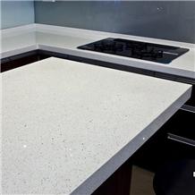 Crystal White Quartz Countertops