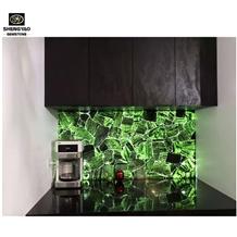 Kitchen Design Green Luxury Kitchen Wall