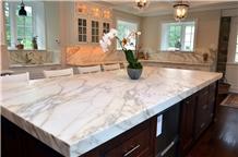 Fishbelly White Quartz Stone Kitchen Countertop