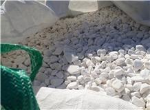 Dolomite Pebble, Gravel, Tumbled Pebble