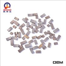Diamond Core Bit Segment for Reinforced Concrete