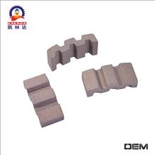 Diamond Core Drill Bit Segment for Drilling Reinforced Concrete