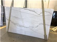 Aria White Quartzite Slab 30mm