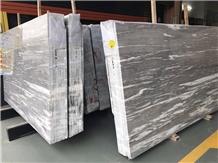 Marmara Platinum Gray Marble Slabs, Tiles