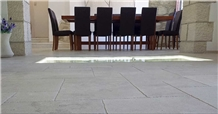 Mezza Perla Scura Floor Tiles, Brushed