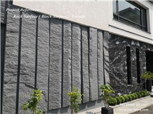 Granite Rock Surface Facade Project Wall Covering