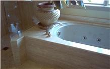 Idaho Travertine Tub or Shower Surround