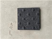 Black Granite Blind Pave,Walkway Paving Stone