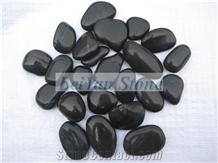 High Polished Black Pebble,Premium Quality