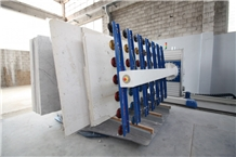 Geko Automatic Loader/Unloader for Marble and Granite Processing Lines