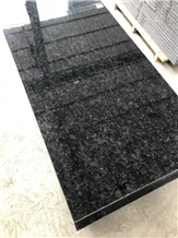 Cheap Angola Black Granite Tiles Polished