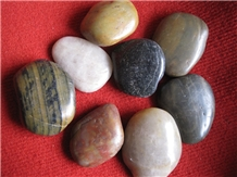 China Multi Color Mixed Pebble Stone
