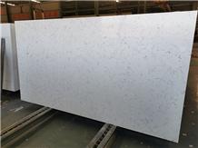 Labby White Quartz Stone Slab Wall Covering Floor