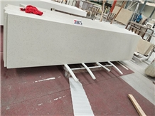 Marry White Quartz Kitchen Slab Stone Flooring