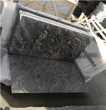 Mexico New Juparana Black Granite Tiles