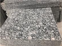 Polished Spray White Seawave Granite Slabs