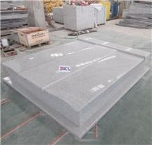 Romania Grey Granite Tombstone Headstone G603