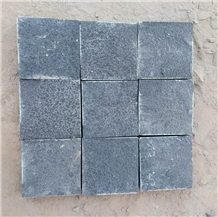 Split Black Basalt Cobbles
