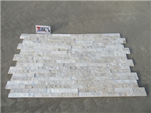 Split Surface White Stone Wall Cultured Stone Tile