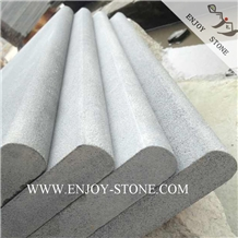 Sandblasted Grey Basalt/Andesite Pool Coping Tiles