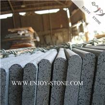 Sawn Bullnose Zhangpu Bluestone / Andesite Stone