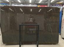 China Dark Emperador Black Marble Big Slabs, Tiles