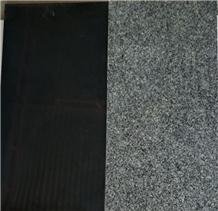 Black Flamed Granite Paver