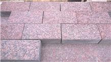 Red Granite Paver