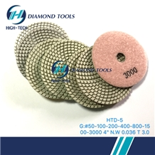 Premium Flexible Dry Polishing Pad for Granite
