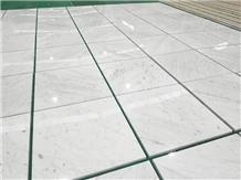 Italian Stone Floor White Statuario Venato Marble