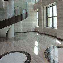 White Wooden Marble Tiles & Slabs