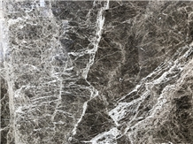 Chinese Hermes Grey Marble with White Vein