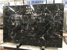 Beautiful China Century Black Ice Marble Slabs