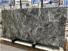 Beautiful Silver Fox Grey Marble Slabs & Tiles