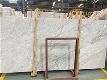 Bianco Carrara La Facciata Marble Slabs