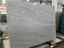 Bianco Milan White Marble Slabs for Hotel Project