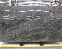 Brilliant Black Quartzite Slabs