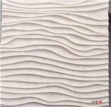 Carved Stone Cnc Wall Design Background