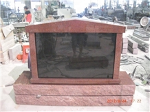 Cemetery Usage Red Granite Columbarium Niche