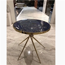 Centre Dining Table with Marble Top