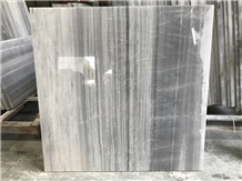 China Icelandic Wood Grey Marble Floor Tiles