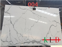 China White Calacatta Artificial Stone