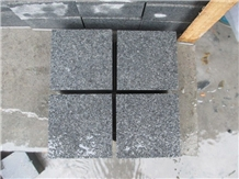 Flamed G654 Granite Pavements Cobble Pavers