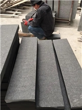Flamed Mongolia Black,China Absolute Black,Stairs